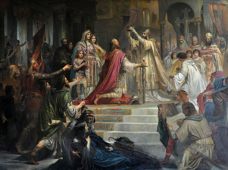 51 – Charlemagne: Becoming an Emperor